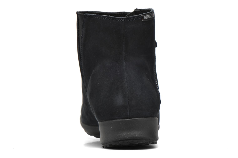 Bottines et boots Mephisto Filipina Bleu vue droite