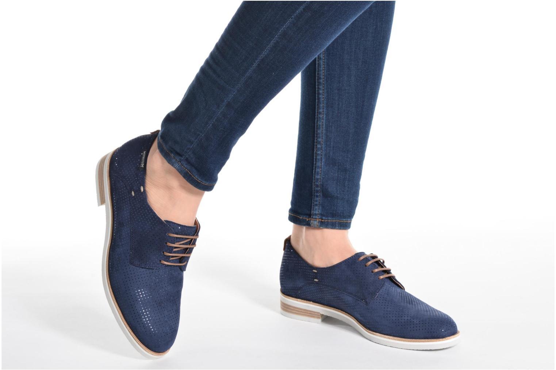 Chaussures à lacets Mephisto Poppy Noir vue bas / vue portée sac