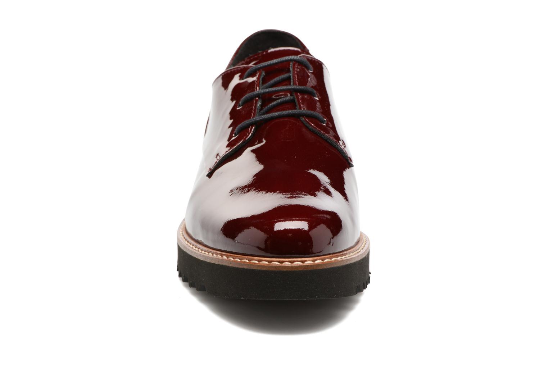 Chaussures à lacets Mephisto Sabatina Bordeaux vue portées chaussures