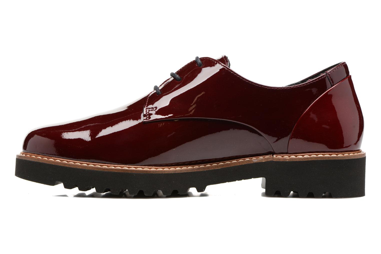 Chaussures à lacets Mephisto Sabatina Bordeaux vue face