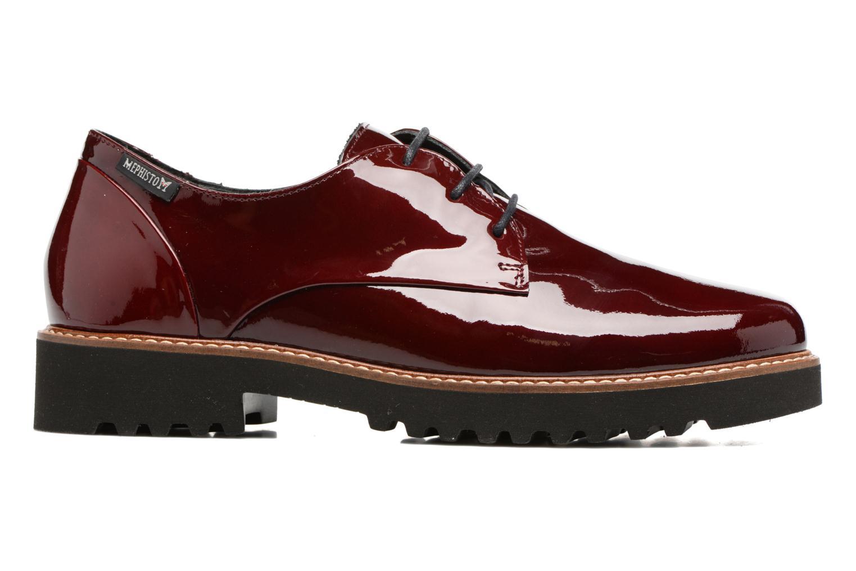 Chaussures à lacets Mephisto Sabatina Bordeaux vue derrière