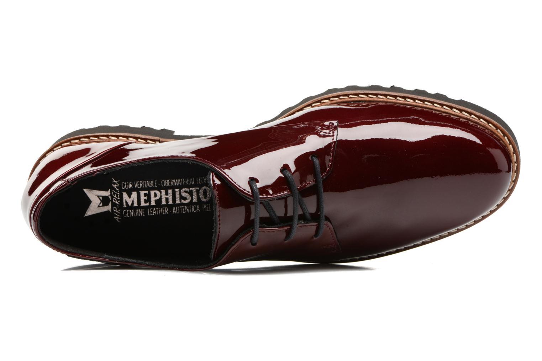 Chaussures à lacets Mephisto Sabatina Bordeaux vue gauche