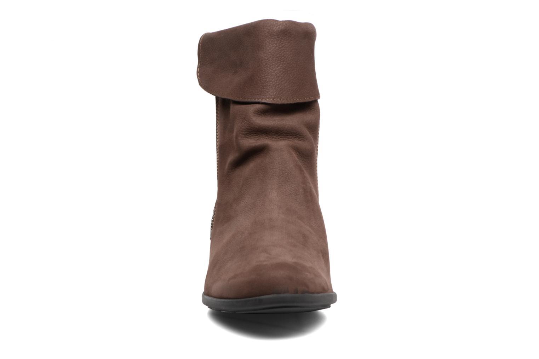Bottines et boots Mephisto Seddy Marron vue portées chaussures