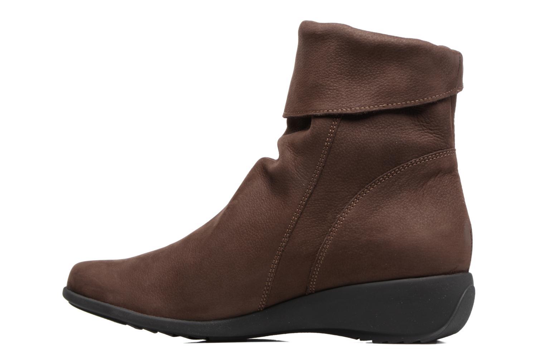 Bottines et boots Mephisto Seddy Marron vue face