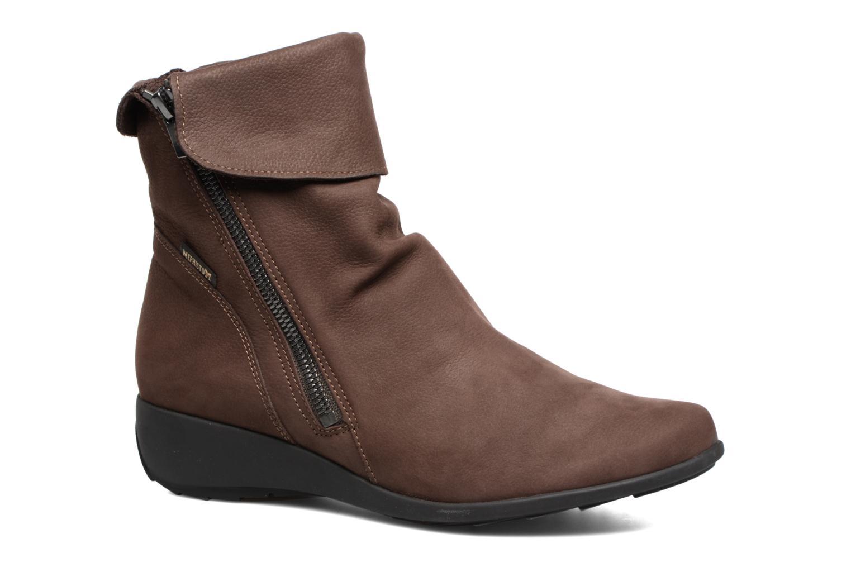 Bottines et boots Mephisto Seddy Marron vue détail/paire
