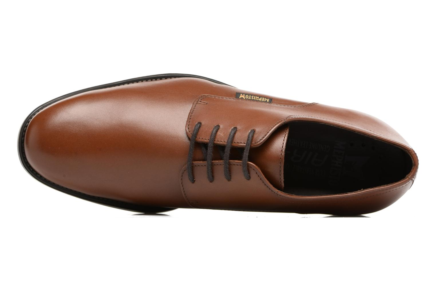 Veterschoenen Mephisto Cooper Bruin links