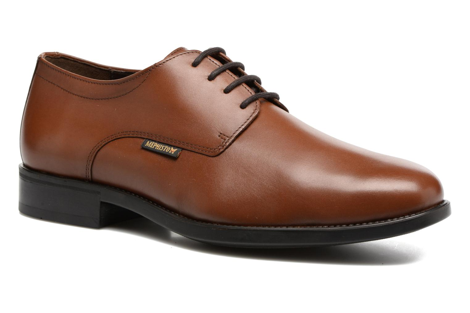 Veterschoenen Mephisto Cooper Bruin detail