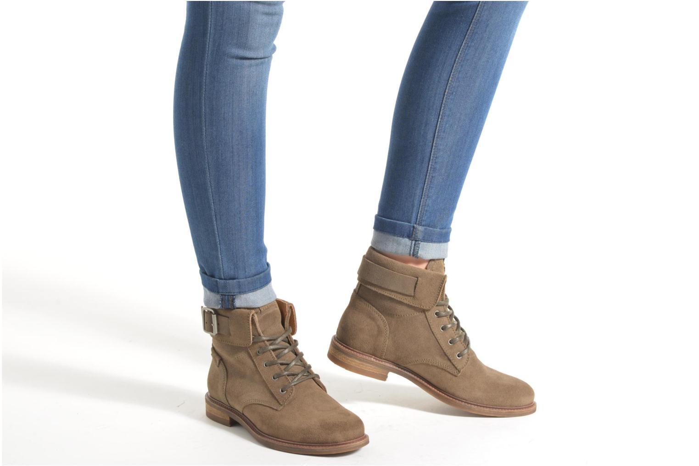 Bottines et boots P-L-D-M By Palladium Nutty Rust Beige vue bas / vue portée sac