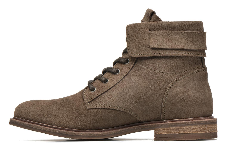 Bottines et boots P-L-D-M By Palladium Nutty Rust Beige vue face