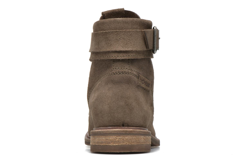 Bottines et boots P-L-D-M By Palladium Nutty Rust Beige vue droite