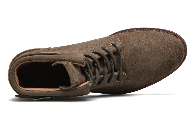 Bottines et boots P-L-D-M By Palladium Nutty Rust Beige vue gauche