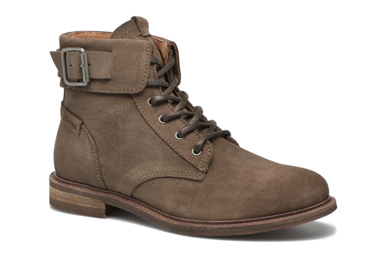 Bottines et boots P-L-D-M By Palladium Nutty Rust Beige vue détail/paire