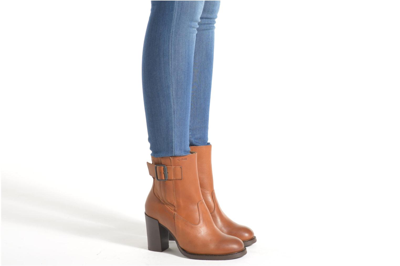 Bottines et boots P-L-D-M By Palladium Hill IBX Marron vue bas / vue portée sac