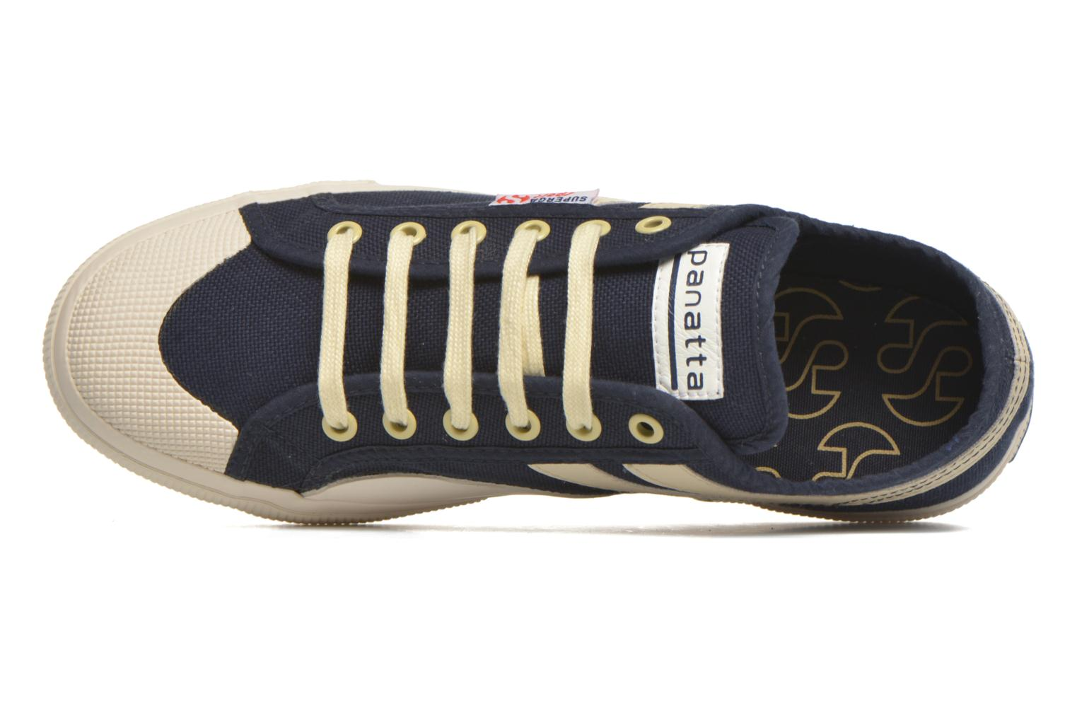 Trainers Superga 2750 Cotu Panatta Blue view from the left