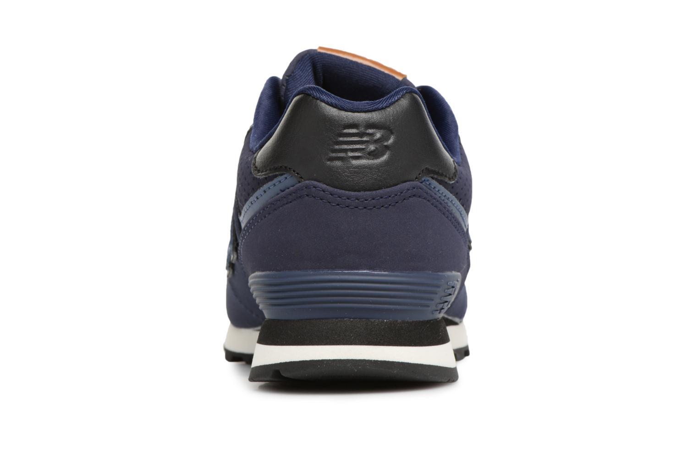 Sneaker New Balance KL574 M blau ansicht von rechts