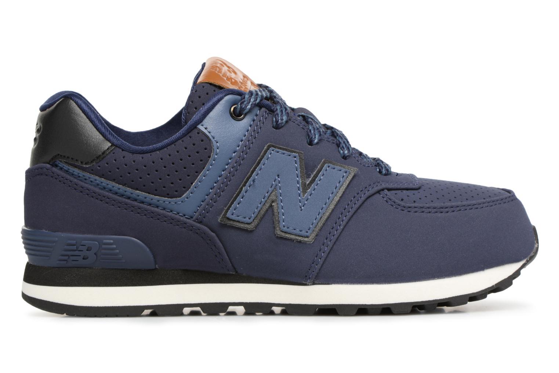 Sneakers New Balance KL574 M Azzurro immagine posteriore
