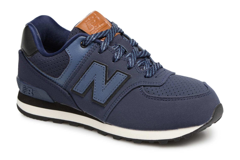Sneakers New Balance KL574 M Blå detaljeret billede af skoene