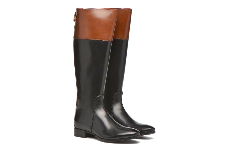 Boots & wellies Santoni New Ele 55949 Black 3/4 view
