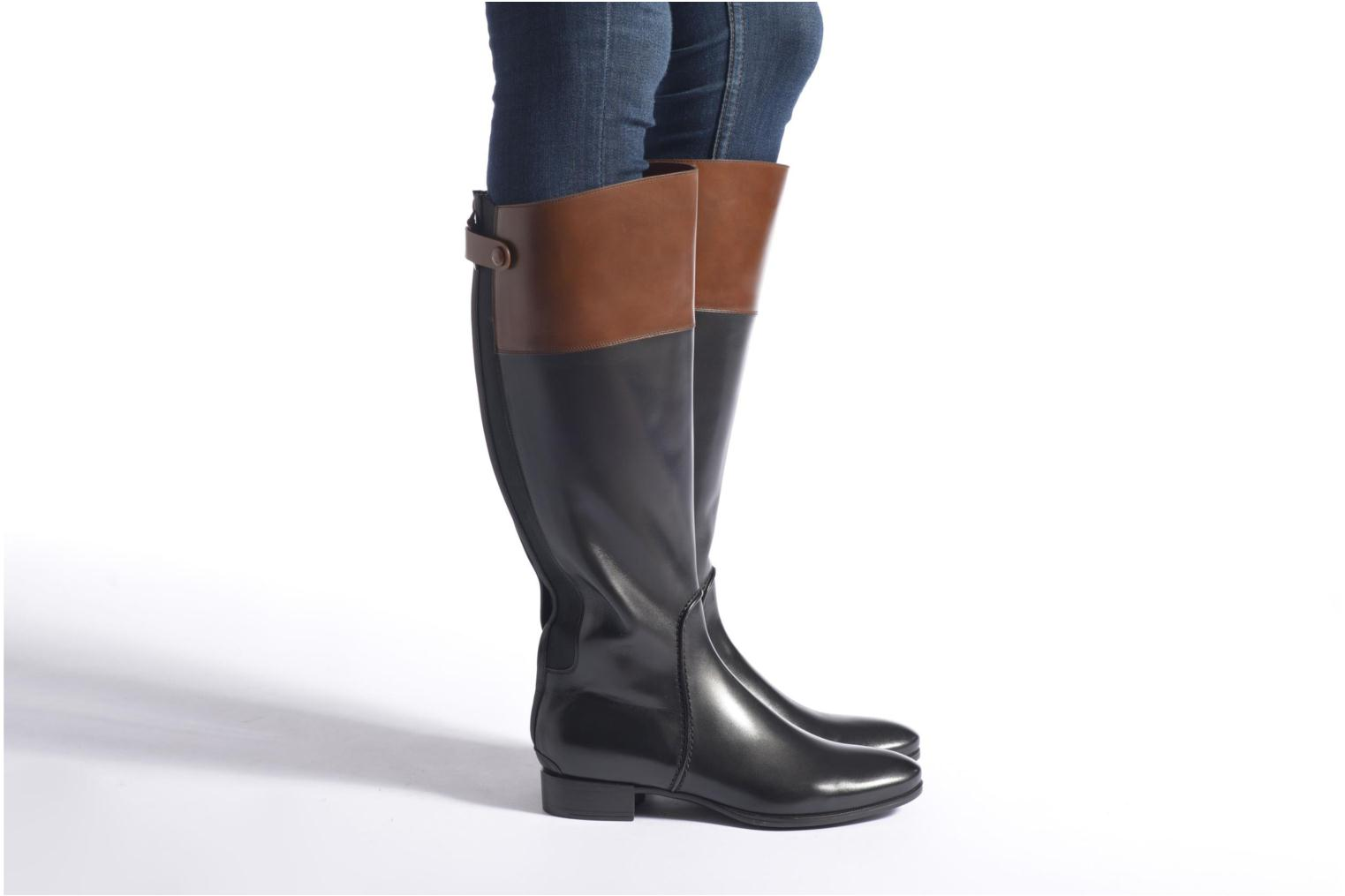 Boots & wellies Santoni New Ele 55949 Black view from underneath / model view