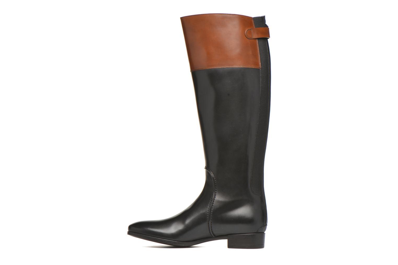 Boots & wellies Santoni New Ele 55949 Black front view