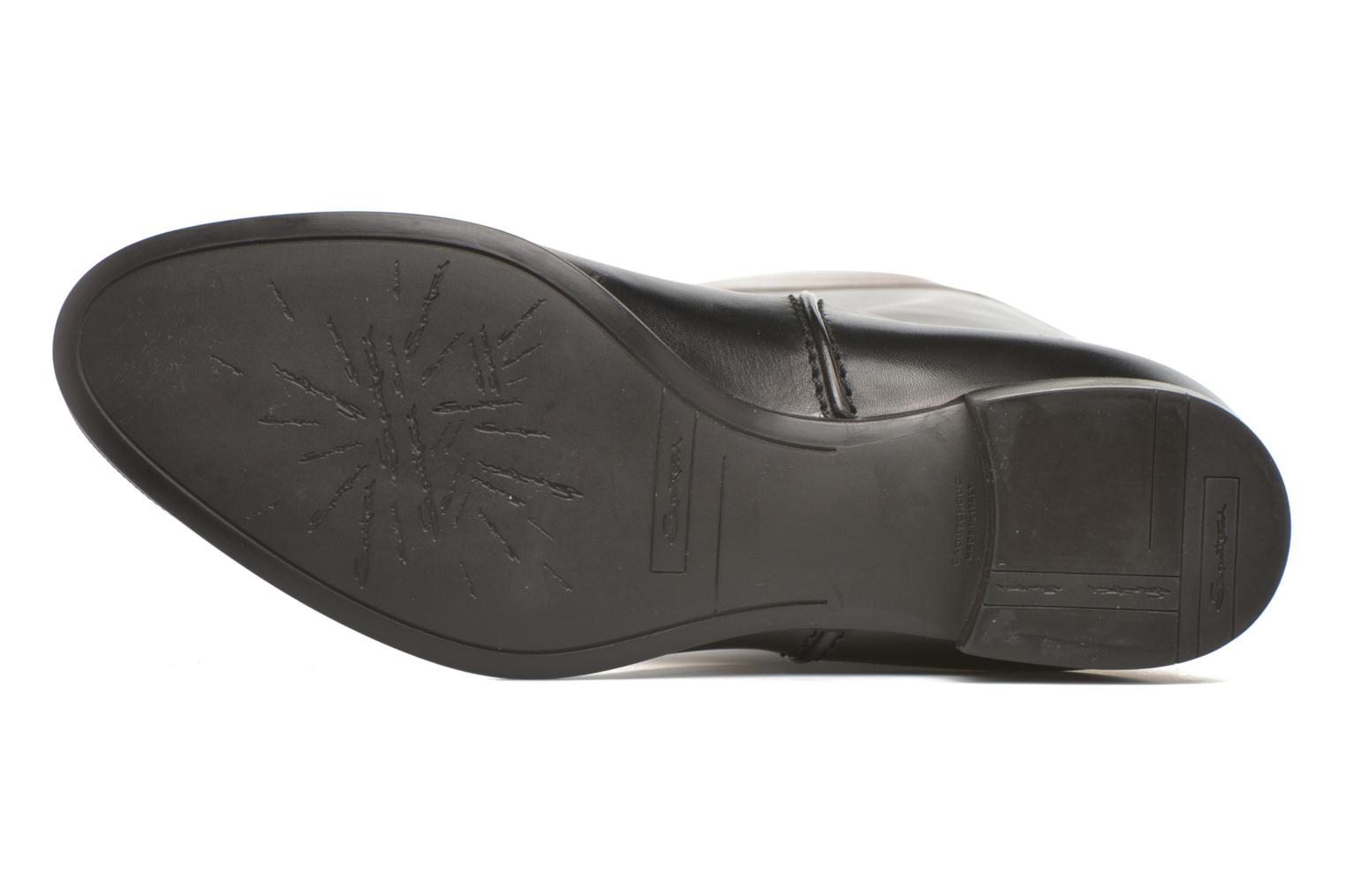 Boots & wellies Santoni New Ele 55949 Black view from above