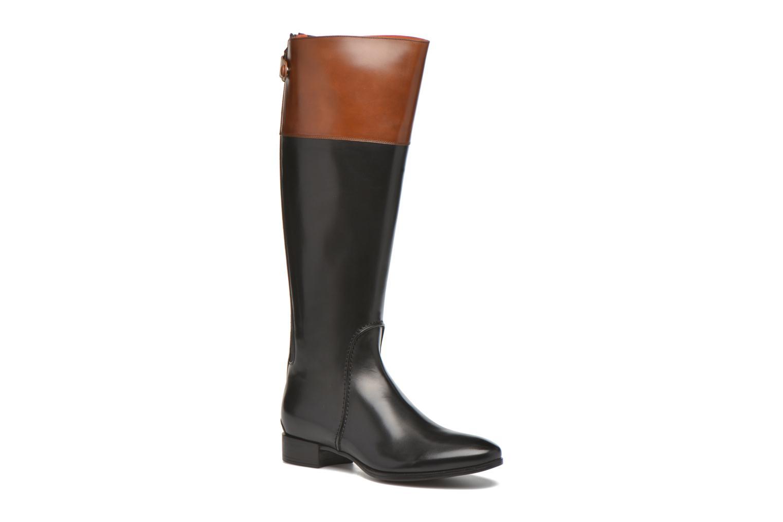 Boots & wellies Santoni New Ele 55949 Black detailed view/ Pair view