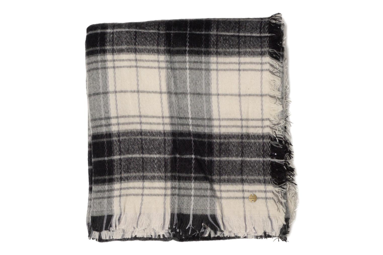 Echarpe carrée carreaux Black