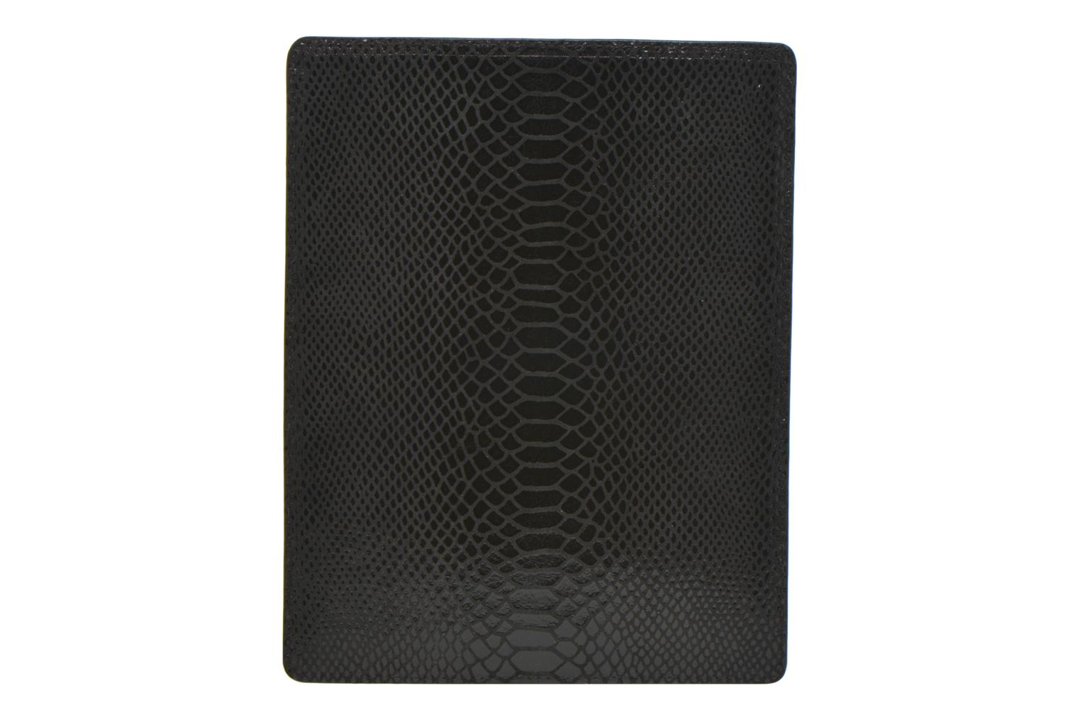 Wallets & cases Petite mendigote Big Etoile Porte iPad Black front view