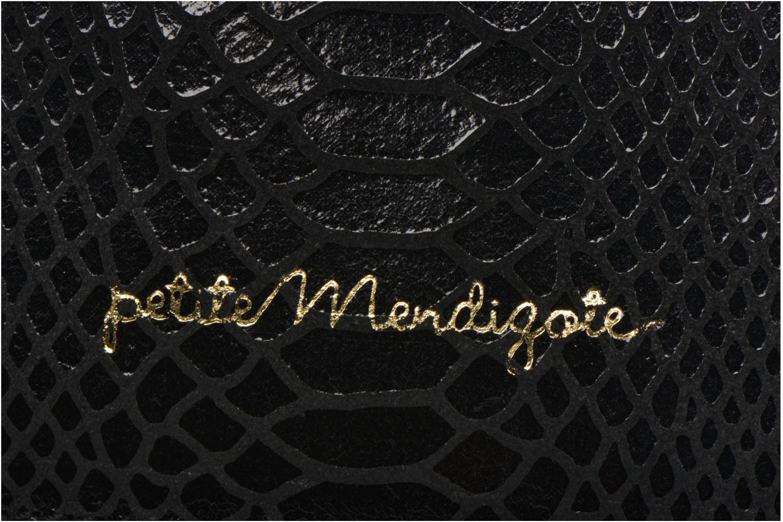Kleine lederwaren Petite mendigote Big Etoile Porte iPad Zwart links