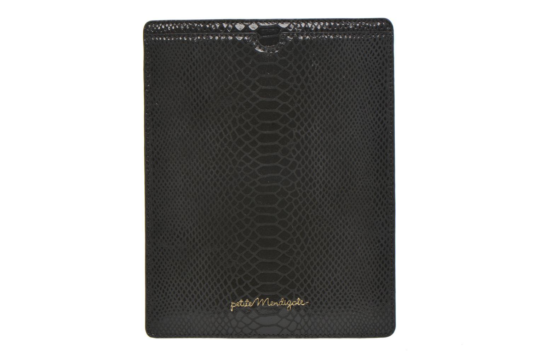 Petite Maroquinerie Petite mendigote Big Etoile Porte iPad Noir vue détail/paire
