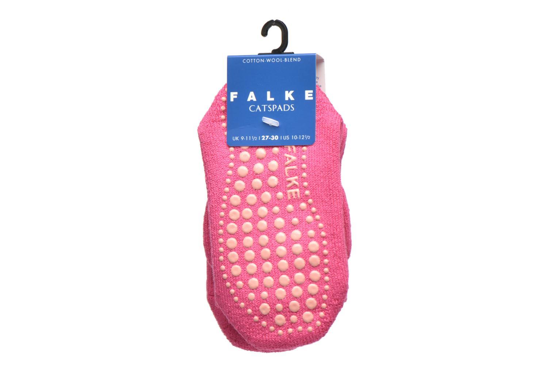 Strumpor och strumpbyxor Falke Chaussons-chaussettes Catspads Rosa bild från baksidan
