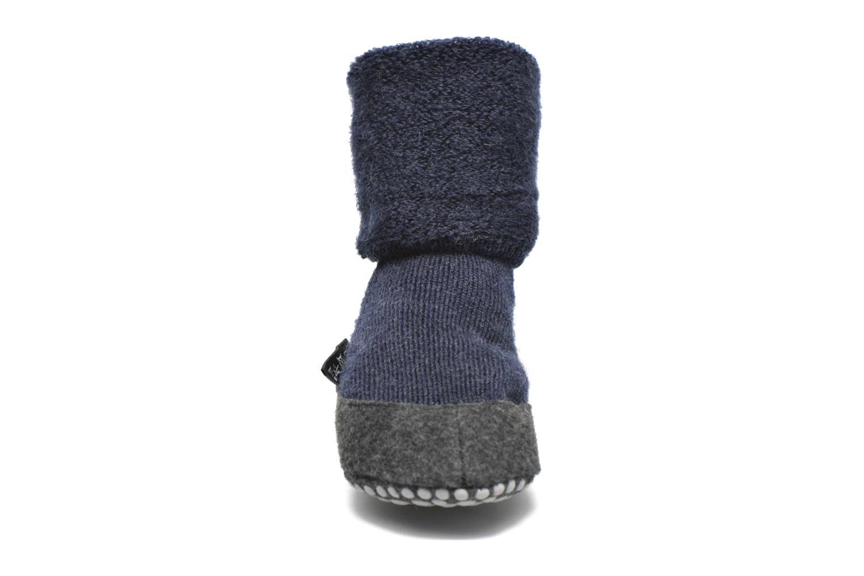 Calze e collant Falke Chaussons-chaussettes Cosyshoes Azzurro modello indossato