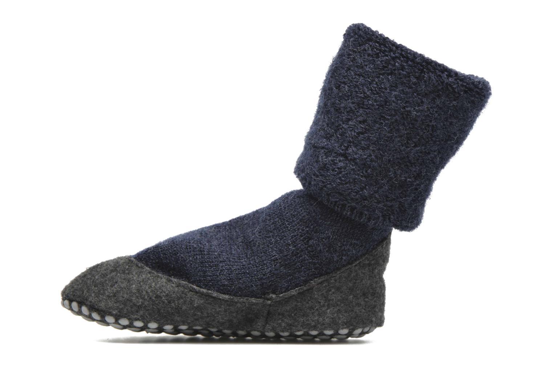 Chaussettes et collants Falke Chaussons-chaussettes Cosyshoes Bleu vue face