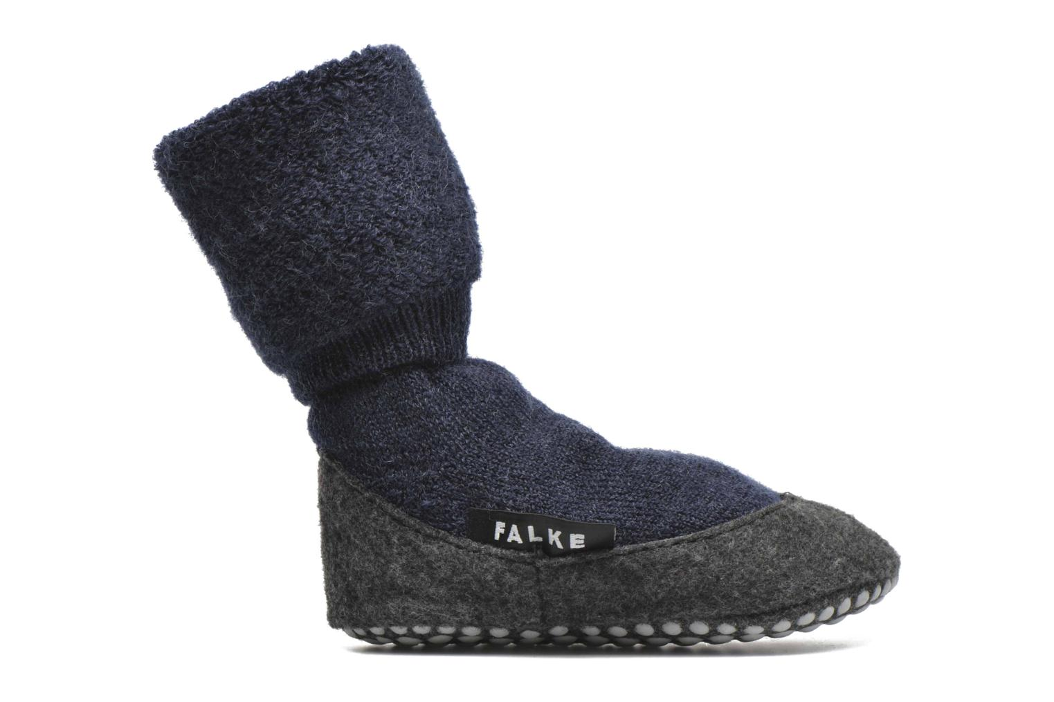 Socks & tights Falke Chaussons-chaussettes Cosyshoes Blue back view