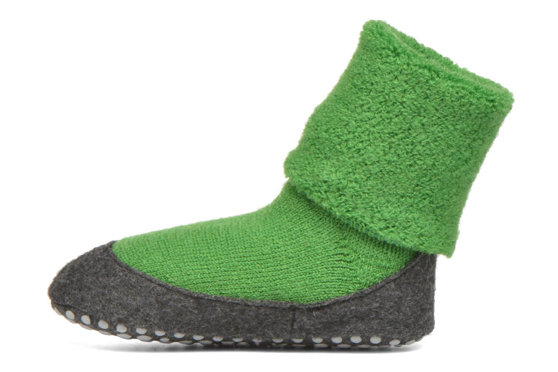 Chaussettes et collants Falke Chaussons-chaussettes Cosyshoes Vert vue face