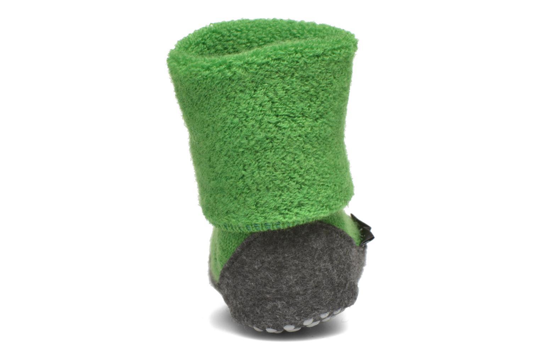 Chaussettes et collants Falke Chaussons-chaussettes Cosyshoes Vert vue droite
