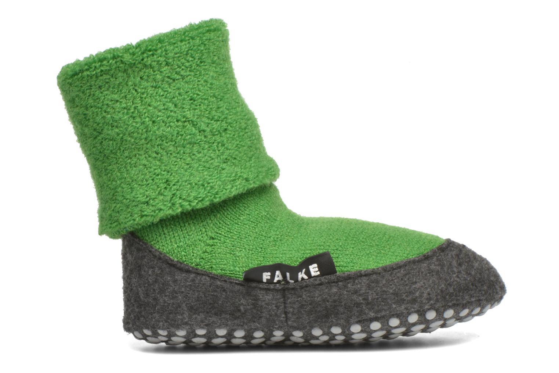 Chaussettes et collants Falke Chaussons-chaussettes Cosyshoes Vert vue derrière