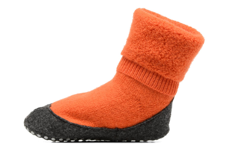 Chaussettes et collants Falke Chaussons-chaussettes Cosyshoes Orange vue face