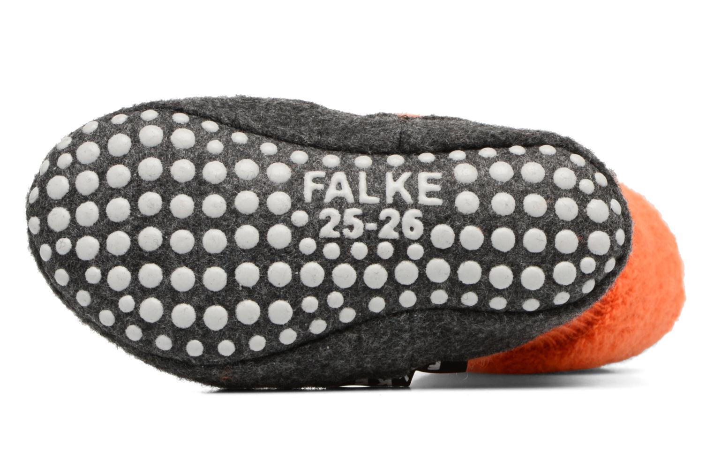 Chaussettes et collants Falke Chaussons-chaussettes Cosyshoes Orange vue haut
