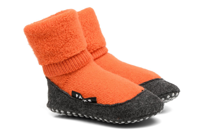 Chaussettes et collants Falke Chaussons-chaussettes Cosyshoes Orange vue détail/paire