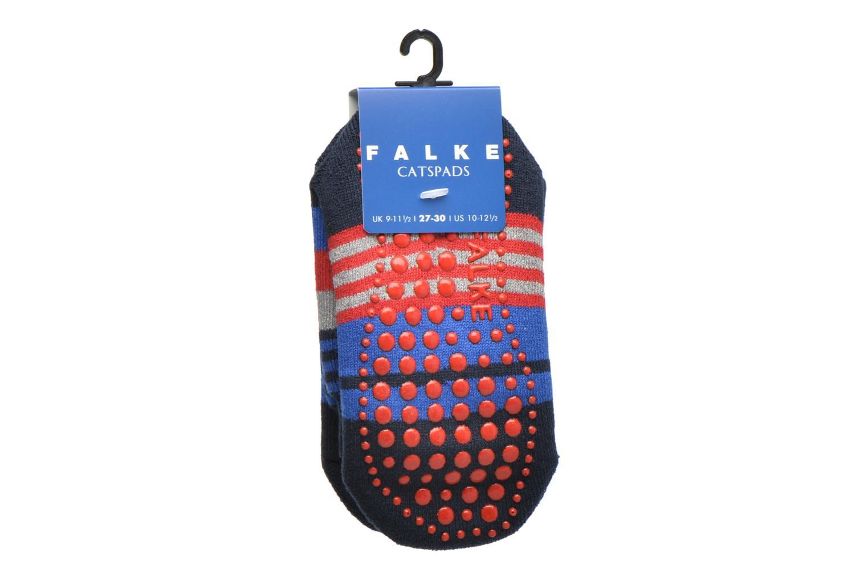 Strømper og tights Falke Chaussons-chaussettes Irregular Stripe Catspads Multi se bagfra
