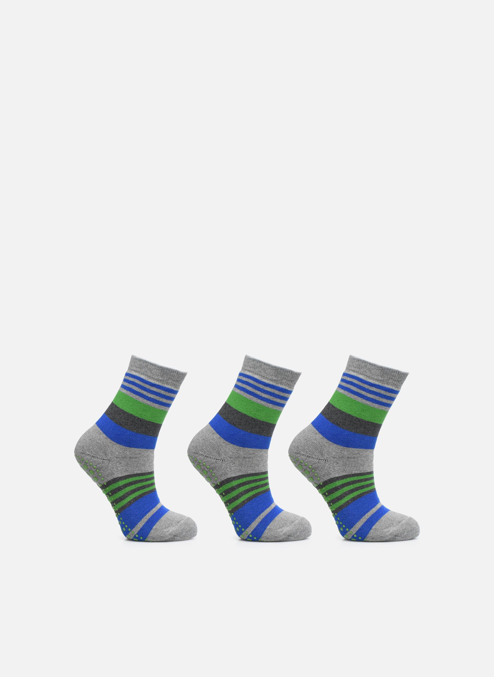 Medias y Calcetines Falke Chaussons-chaussettes Irregular Stripe Catspads Multicolor vista de detalle / par