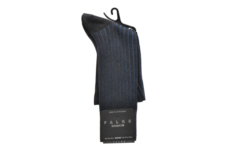 Sokken en panty's Falke Chaussettes Shadow Grijs achterkant