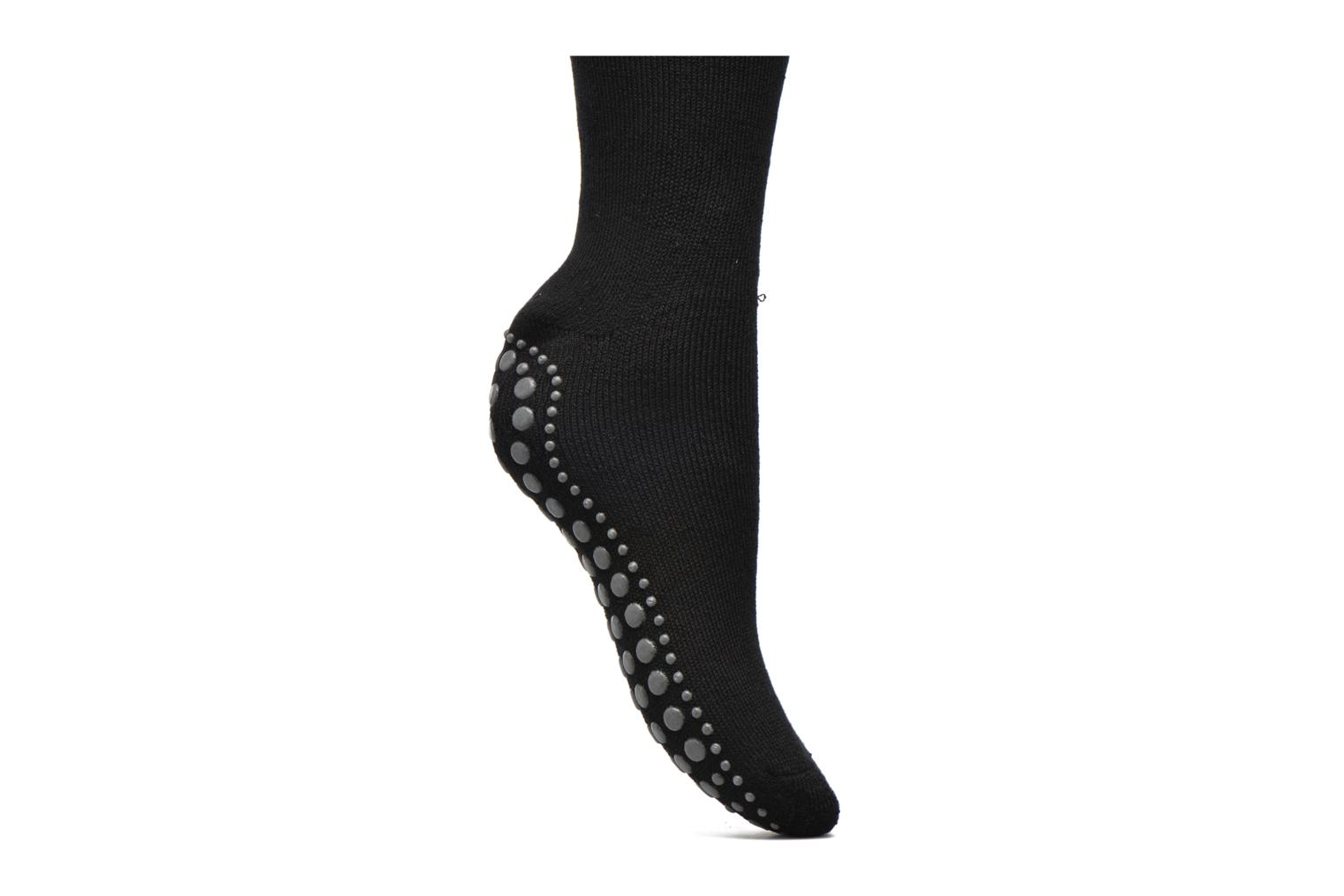 Socks & tights Falke Chaussons-chaussettes Homepads Black view from the left