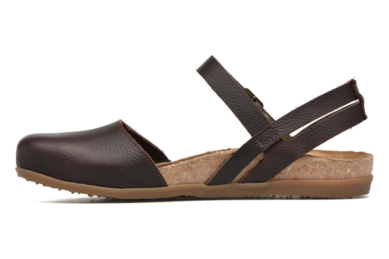 Sandales et nu-pieds El Naturalista Zumaia NF41 Marron vue face