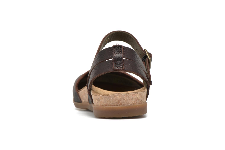 Sandales et nu-pieds El Naturalista Zumaia NF41 Marron vue droite