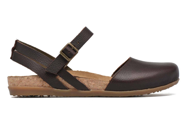 Sandales et nu-pieds El Naturalista Zumaia NF41 Marron vue derrière