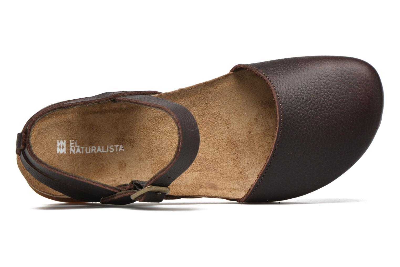 Sandales et nu-pieds El Naturalista Zumaia NF41 Marron vue gauche