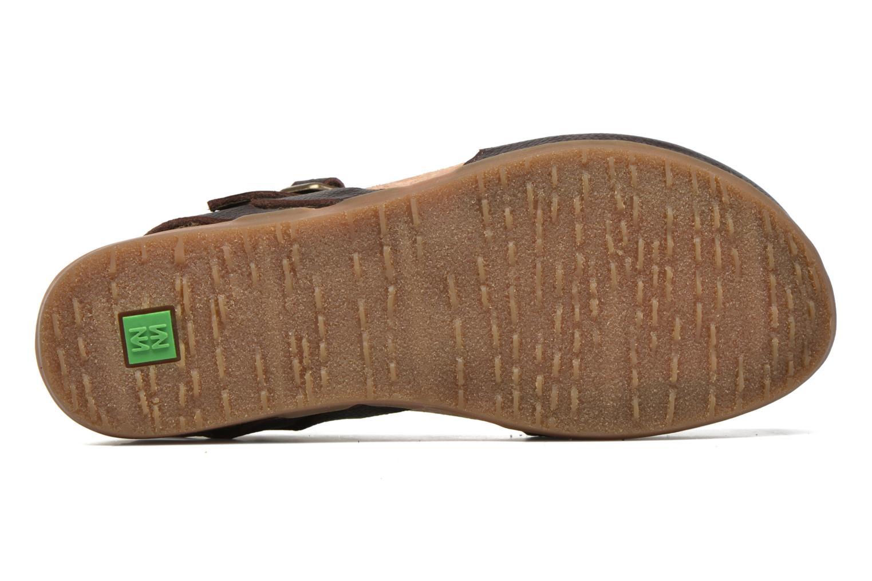 Sandales et nu-pieds El Naturalista Zumaia NF41 Marron vue haut