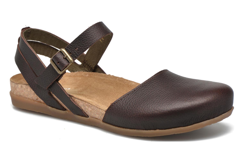 Sandales et nu-pieds El Naturalista Zumaia NF41 Marron vue détail/paire